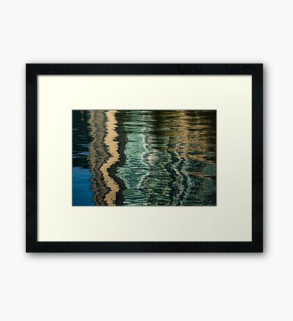 Mesmerizing Abstract Reflections Sixteen Framed Print