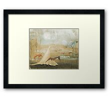 Finding Solace Framed Print