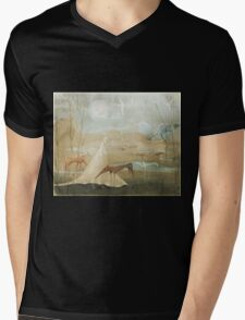Finding Solace Mens V-Neck T-Shirt