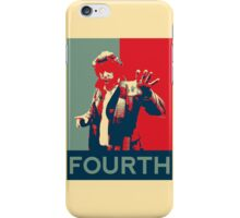 Fourth doctor - Fairey's style iPhone Case/Skin
