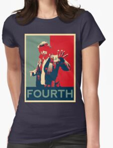 Fourth doctor - Fairey's style Womens Fitted T-Shirt