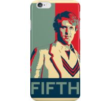 Fifth doctor - Fairey's style iPhone Case/Skin