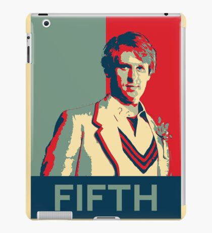 Fifth doctor - Fairey's style iPad Case/Skin