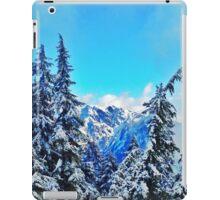 Blue Mountain Scene iPad Case/Skin