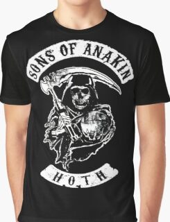 Sons of Anakin - starwars inspired biker patch Graphic T-Shirt