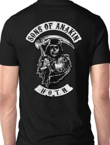 Sons of Anakin - starwars inspired biker patch Unisex T-Shirt