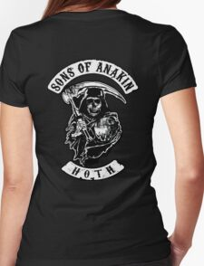 Sons of Anakin - starwars inspired biker patch Womens Fitted T-Shirt