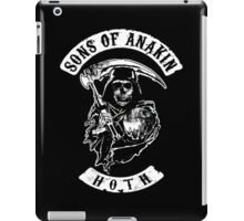 Sons of Anakin - starwars inspired biker patch iPad Case/Skin