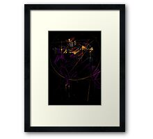all the sins Framed Print