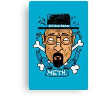 Heisenberg Meth Canvas Print