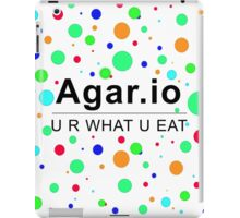 Agar.io U R WHAT U EAT iPad Case/Skin