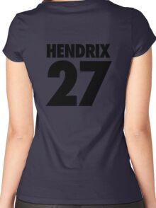 HENDRIX - 27 Women's Fitted Scoop T-Shirt