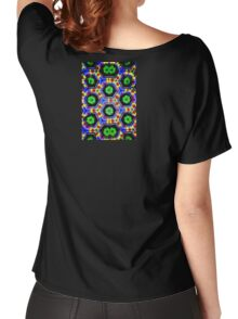 Green Petals Women's Relaxed Fit T-Shirt