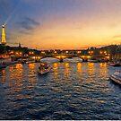 Cruising on the Seine by John Rivera