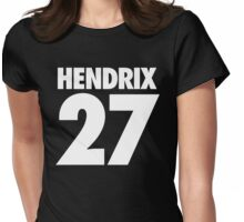 HENDRIX - 27 - Alternate Womens Fitted T-Shirt