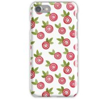 Red roses iPhone Case/Skin