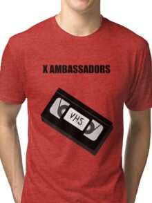 X Ambassadors - VHS Tri-blend T-Shirt