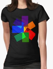 Seven-Sided Kaleidoscope  Womens Fitted T-Shirt