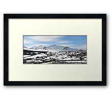The mourne mountains. Framed Print