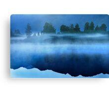 Mirror Lake New Zealand Canvas Print