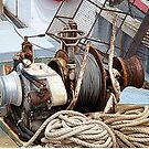 Fishing Boat Winch by Woodie