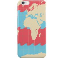 World Traveler Colorful Map of the Earth iPhone Case/Skin