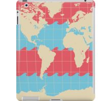 World Traveler Colorful Map of the Earth iPad Case/Skin