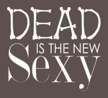 'Dead Is The New Sexy' BBC Sherlock Special Print by Sian Kjellberg