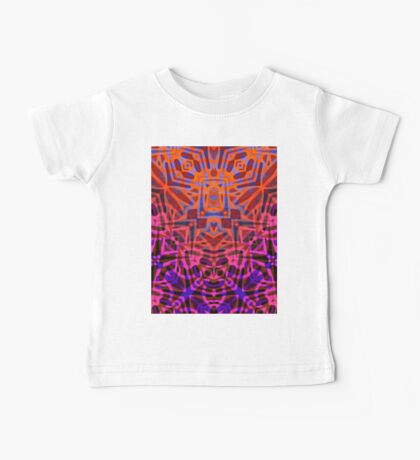 Fractal Art Stained Glass  Baby Tee