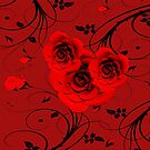 Rote Rosen - red roses by harietteh