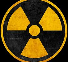 Radioactive Nuclear Reactor Yellow and Black by pdgraphics