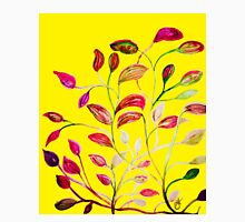 Red and Green Leaves! Yellow Sunshine! Unisex T-Shirt