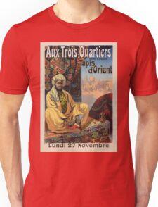 Vintage poster - Aux Trois Quartiers Unisex T-Shirt