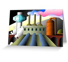 industry 18 Greeting Card