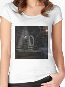 Future Trooper Women's Fitted Scoop T-Shirt
