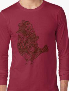 pattern birds  Long Sleeve T-Shirt