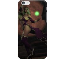 Blood Moon Sorceress iPhone Case/Skin