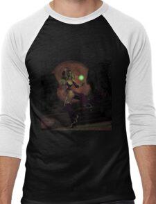 Blood Moon Sorceress Men's Baseball ¾ T-Shirt