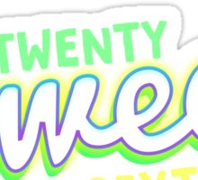 Twenty Sweet Sixteen ( Lime and Citron edition ) Sticker