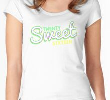 Twenty Sweet Sixteen ( Lime and Citron edition ) Women's Fitted Scoop T-Shirt
