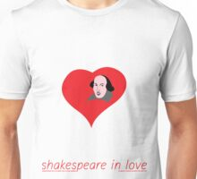 Shakespeare in love Unisex T-Shirt