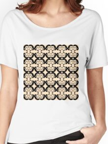Audrey Black on Flesh Women's Relaxed Fit T-Shirt