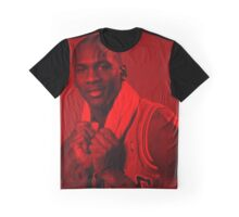 Michael Jordan - Professional Basketball Player Graphic T-Shirt