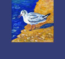 Seagull at the Baltic Sea Womens Fitted T-Shirt