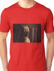 Adorable Pug in Profile Unisex T-Shirt