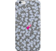 Pink pill iPhone Case/Skin