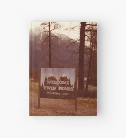 Twin Peaks Hardcover Journal
