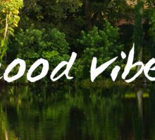 Good Vibes Motivation, Florida Nature Sticker