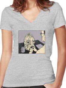 The Mugwump (Naked Lunch) Women's Fitted V-Neck T-Shirt