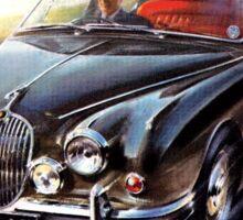 Jaguar Saloon cars Sticker
